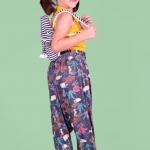 Gicatrica a Roupa infantil feminina que cresce, moda sustentável